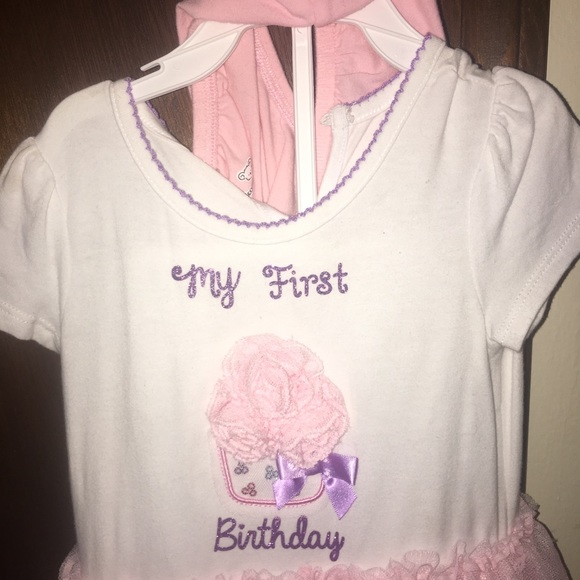My First Birthday Outfit